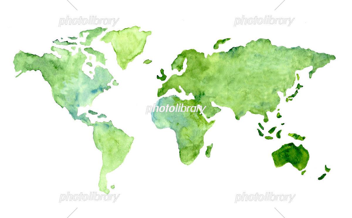 世界地図イラスト イラスト素材 5529925 フォトライブラリー