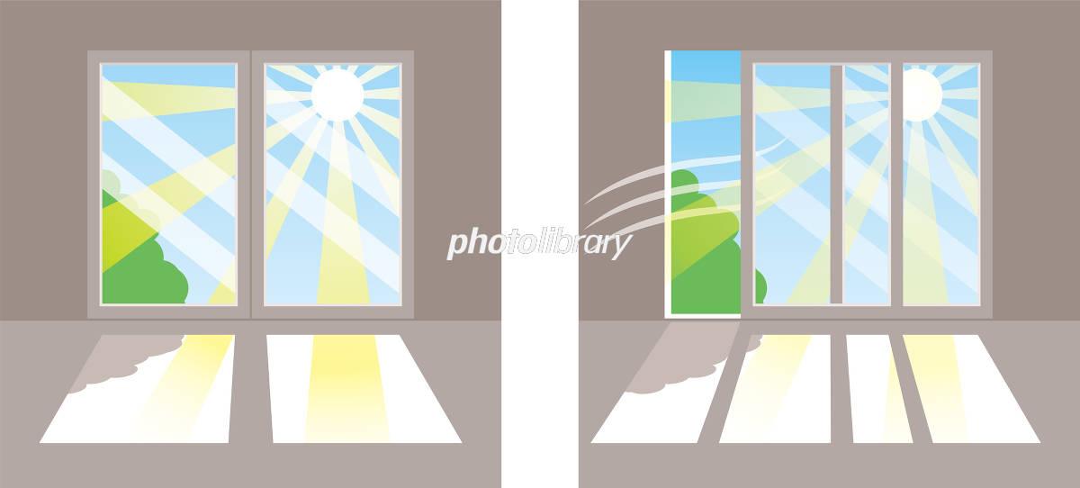 窓の直射日光 イラスト素材 5564729 フォトライブラリー Photolibrary
