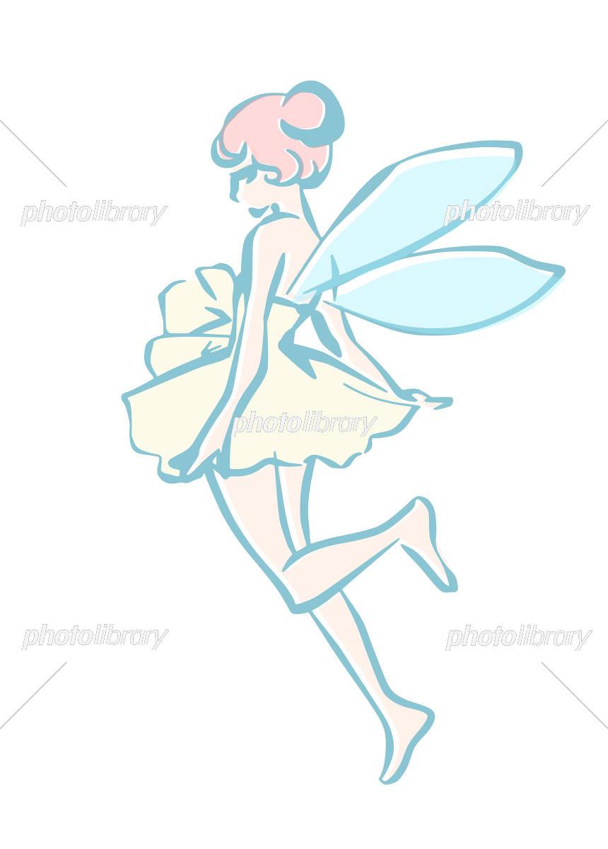 妖精のラフなイラスト イラスト素材 5598359 フォトライブラリー