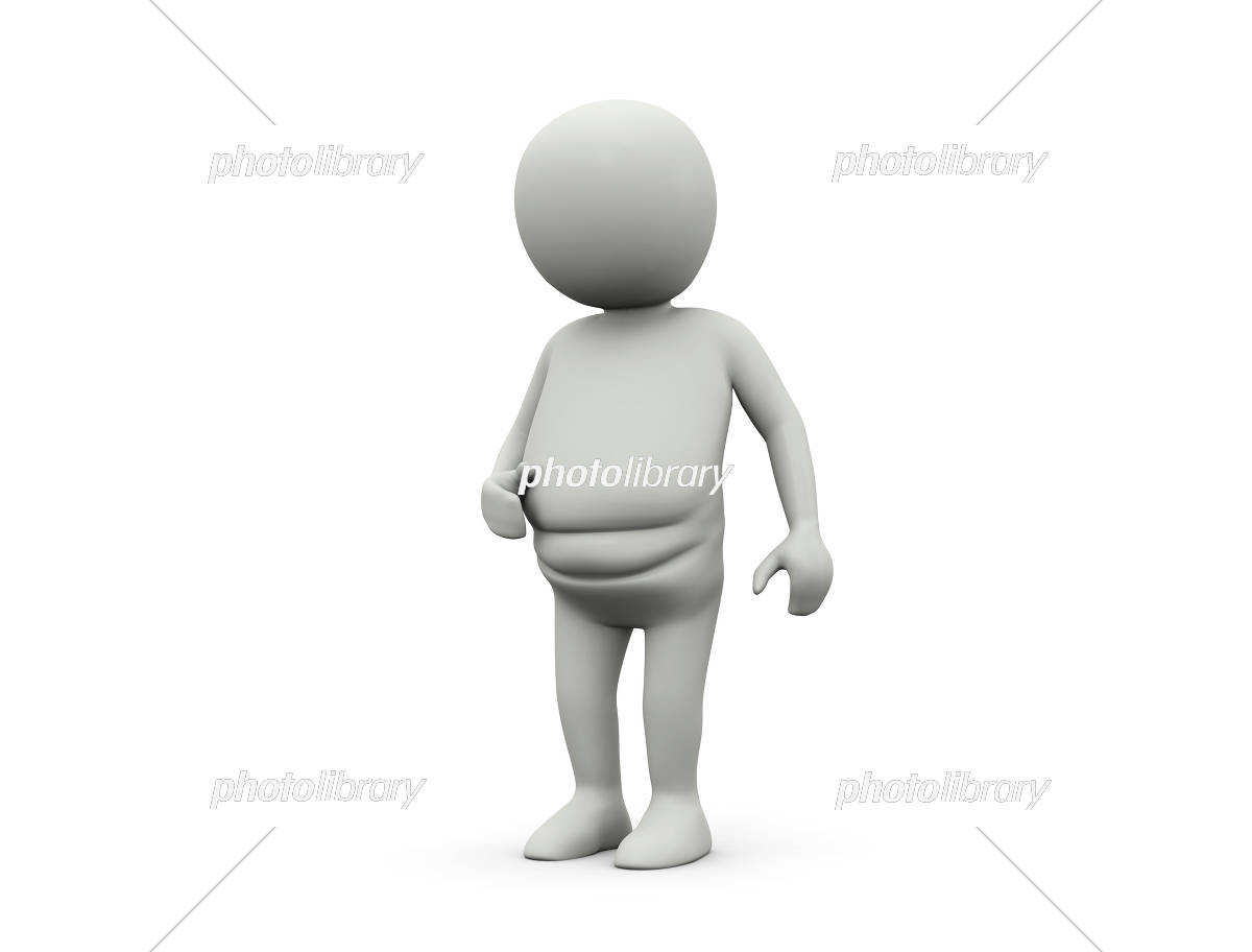 太った人 イラスト素材 5599374 フォトライブラリー Photolibrary