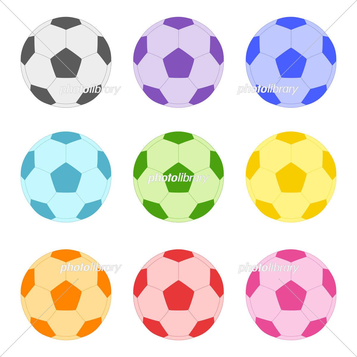 サッカーボール イラスト イラスト素材 5603680 フォトライブ
