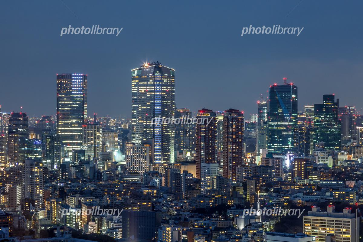 東京都港区 夜景 写真素材 [ 5639215 ] - フォトライブラリー photolibrary