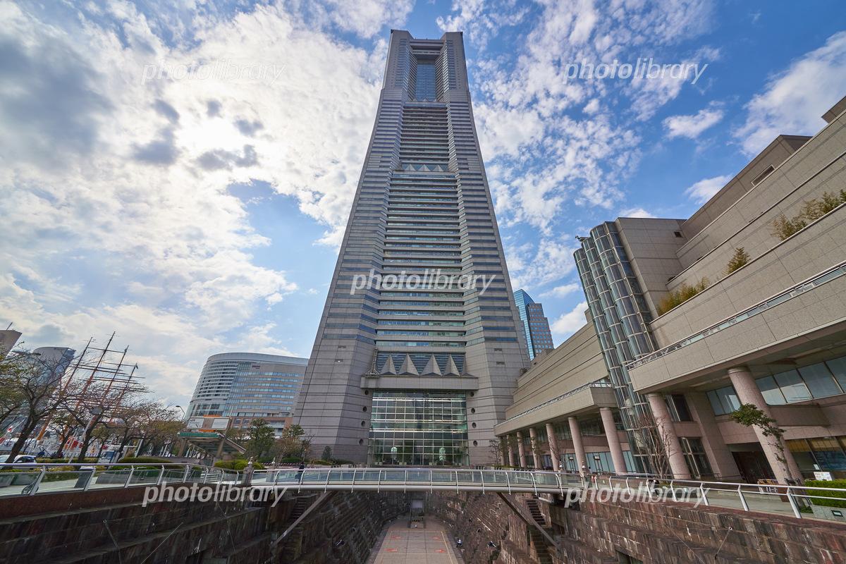 神奈川県横浜市のランドマークタワー 写真素材 5835007 フォト