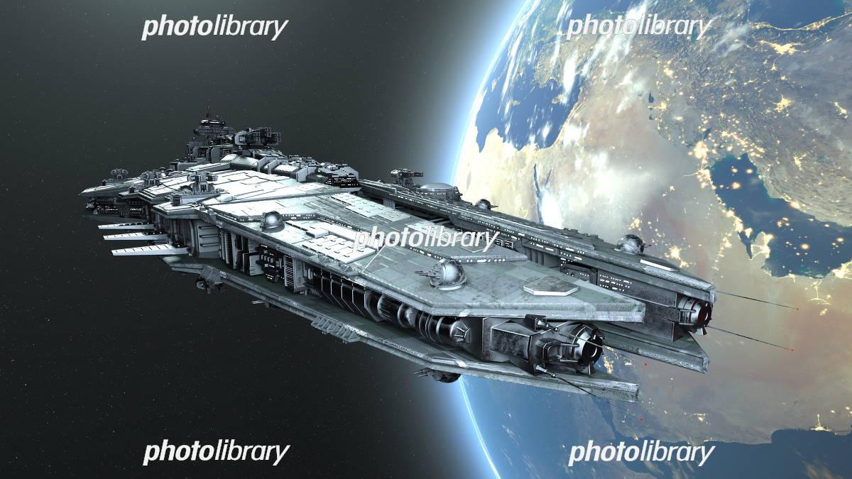 宇宙船 イラスト素材 5861313 フォトライブラリー Photolibrary