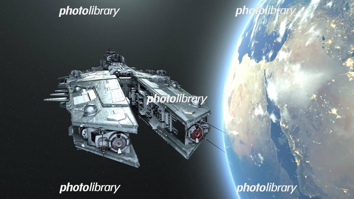 宇宙船 イラスト素材 5861315 フォトライブラリー Photolibrary