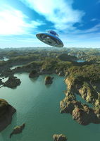 Flying saucer Stock photo [213274] UFO