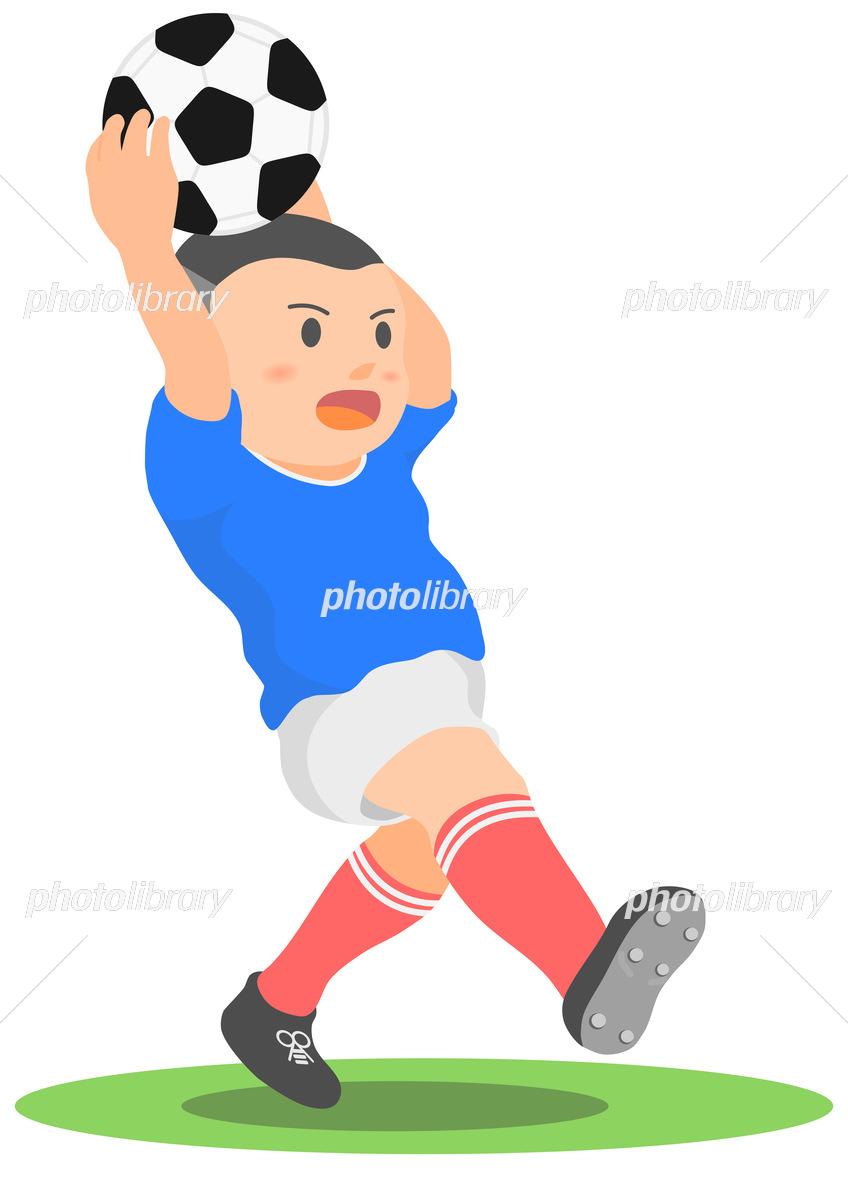 サッカー スロー イン