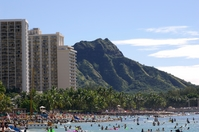 Waikiki Beach Hawaii Stock photo [17056] Southern