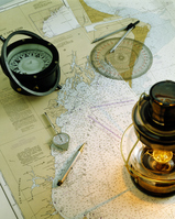 Maps and magnet and lamp Stock photo [616360] Outdoor
