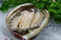 Sashimi of abalone of Jeju Island Stock photo [619355] Jeju