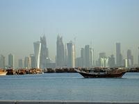 Skyscrapers of Doha Stock photo [620400] Qatar