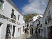 Spain Mijas white walls of the city Stock photo [621462] White