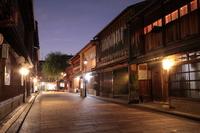 Kanazawa Higashi Chaya District of night Stock photo [622236] Higashi