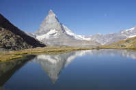 Upside down Matterhorn of Rifferu (Zermatt) Stock photo [628293] Zermatt