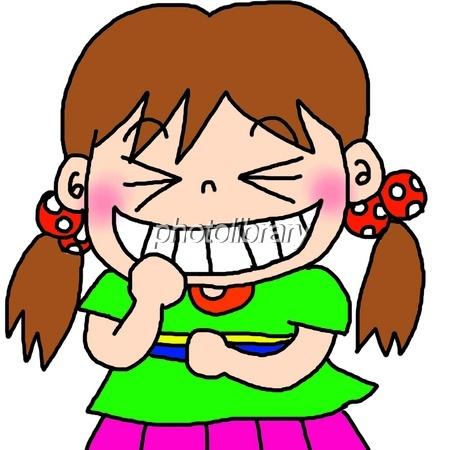 笑う女の子 - 写真素材 ID:7145...