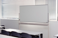 Conference room with a whiteboard Stock photo [705825] Whiteboard