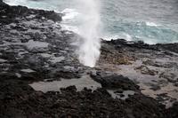 Kauai Spouting Horn Stock photo [705922] Hawaii