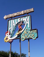 Hawaii North Shore Surf Boy signboard Stock photo [705975] Hawaii