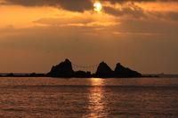 Mitsuishi coast of sunrise Stock photo [708538] Mitsuishi