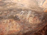 Aboriginal mural Stock photo [712620] Aboriginal