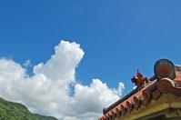 Blue sky and Schiesser Stock photo [713372] Okinawa