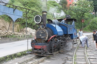 Darjeeling Himalayan Railway Stock photo [715356] India