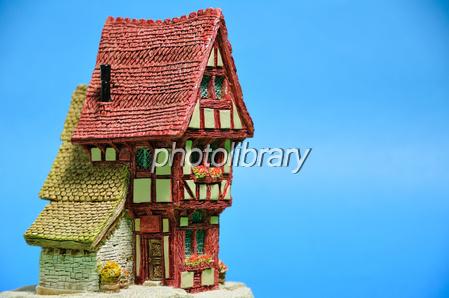 ヨーロッパ風の家の置物-写真素材 ヨーロッパ風の家の置物 画像ID 787484  ヨーロッパ風