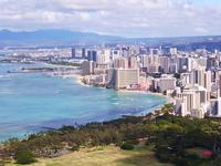 Has a Waikiki from Diamond Head Stock photo [786827] Hawaii