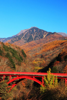 Yatsugatake Higashisawa Ohashi of autumn Stock photo [787256] Yatsugatake