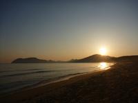 Fukuoka Nusa beach sunrise Stock photo [795698] Fukuoka