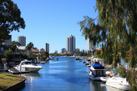 City landscape of Gold Coast Stock photo [796922] Gold