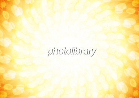背景イラスト 放射状の楕円の渦 オレンジのイラスト素材 無料 フリー