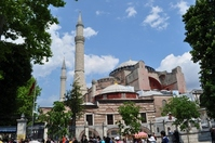 Hagia Sophia lower left entrance Stock photo [871990] Turkey