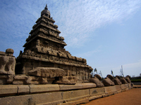 India Mahabalipuram Shore Temple Stock photo [872066] India