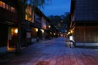 金沢茶屋街夜景
