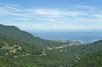 I look at the town of Yakushima Awa Stock photo [874663] Ann