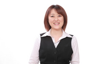 Smile of Sales Lady Stock photo [875569] Person