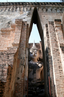 Thai World Heritage Historic City of Sukhothai and the surrounding historic district Wat Shichumu Stock photo [879591] Sukhothai