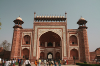 South Gate of the world heritage Taj Mahal of India Stock photo [879648] India