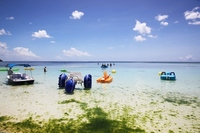 Guam Tumon Beach pedalo Stock photo [881145] Guam