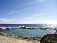 Minami Daito Island seawater pool Stock photo [883285] Seawater