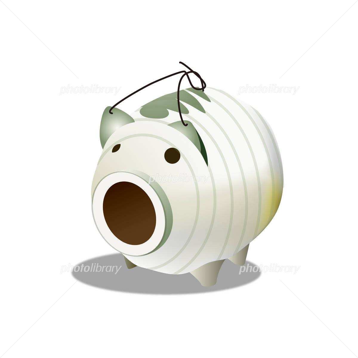 豚の蚊取り線香のイラスト イラスト素材 954101 フォトライブ