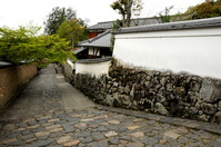 White wall of town Nara Stock photo [948670] Japan