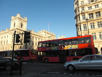 Red double-decker bus Stock photo [950675] London
