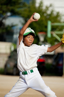 Boy baseball pitcher Stock photo [954585] Boys
