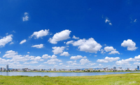 River and cityscape Stock photo [954662] Cloud