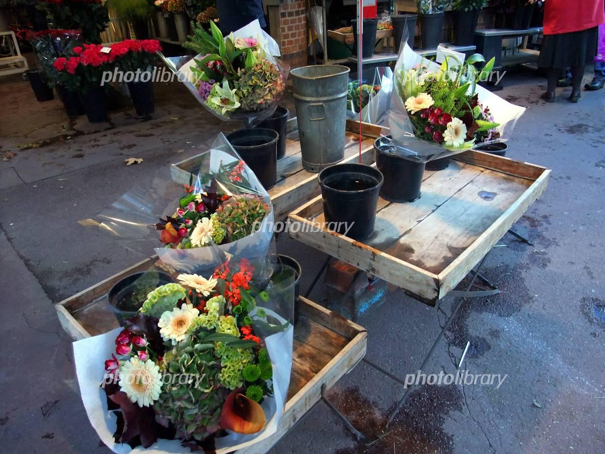 フランスの花屋の写真