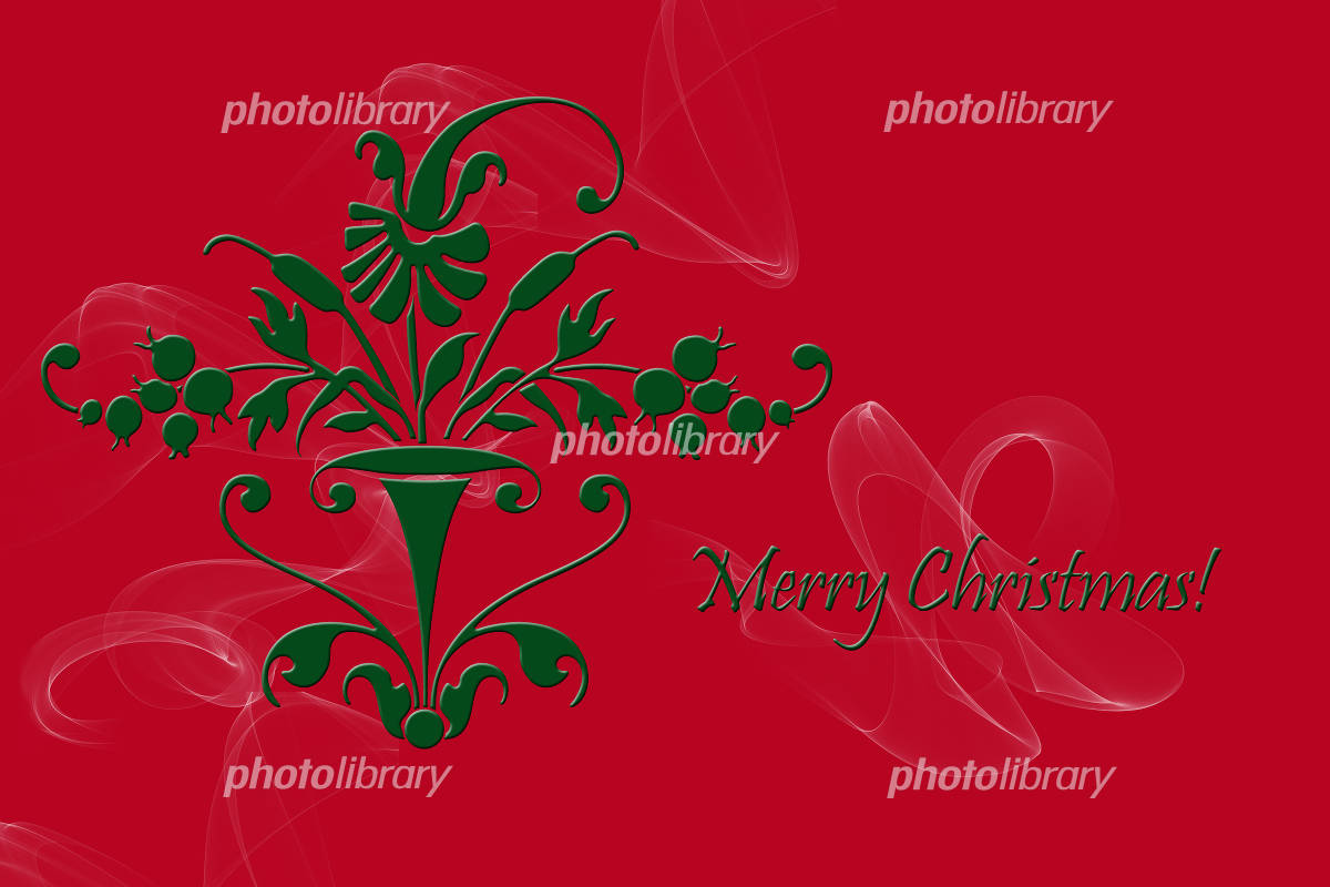 クリスマスカード イラスト素材 1064838 無料 フォトライブラリー