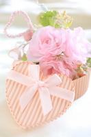Heart of bouquet gift Stock photo [1061931] Hart