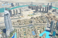 View from the Burj Khalifa Stock photo [1068056] Dubai